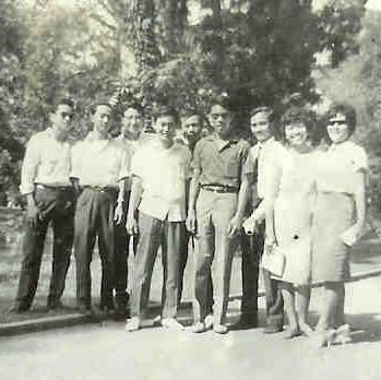 1961 1 Saigon 9 AFSers Cambodia